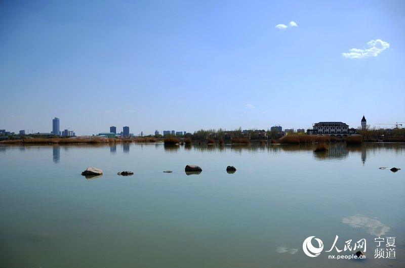 蓝天白云 最美银川--宁夏频道--人民网