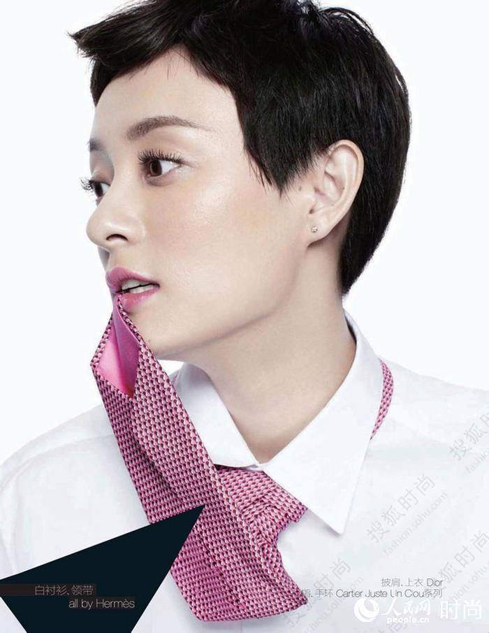 女星短发雌雄莫辩 李宇春领衔女星秀帅气短发造型
