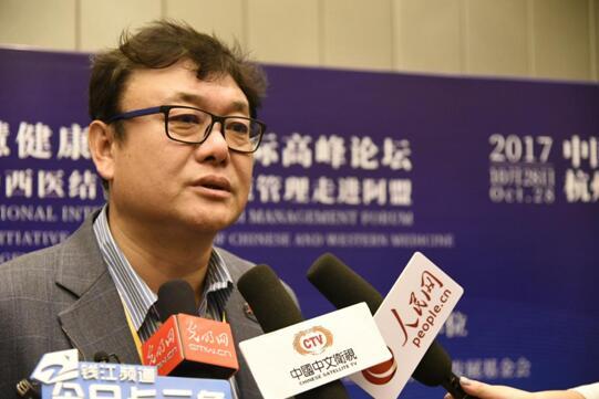 中华医学会健康管理学会常委、中国健康管理学产学研联盟秘书长王占山