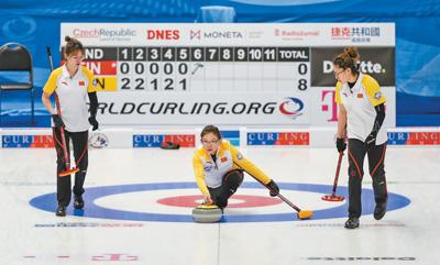 中国男女冰壶队双双两连胜
