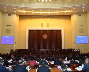 宁夏十二届人大常委会第二次会议召开