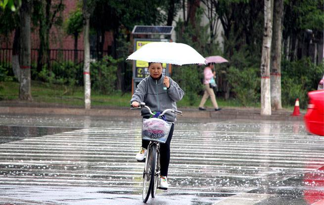 小雨送清凉 未来三日气温明显升高