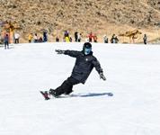 新年第一天感受滑雪的乐趣