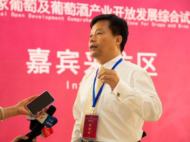 浙江大學教授周玲強:寧夏發展葡萄酒旅游將成倍提升綜合效益